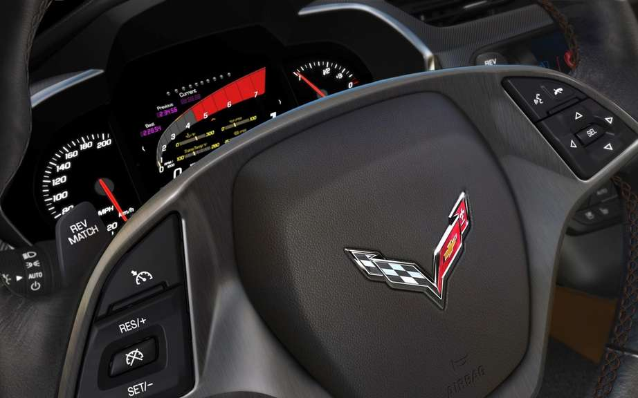 Chevrolet Corvette Stingray 2014: Two power levels