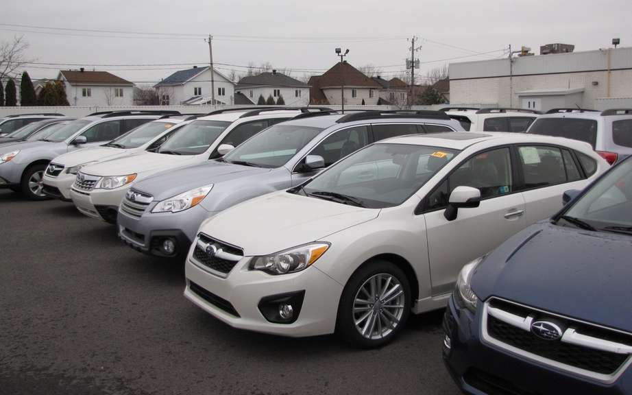 Subaru Canada celebrated a monumental sales growth