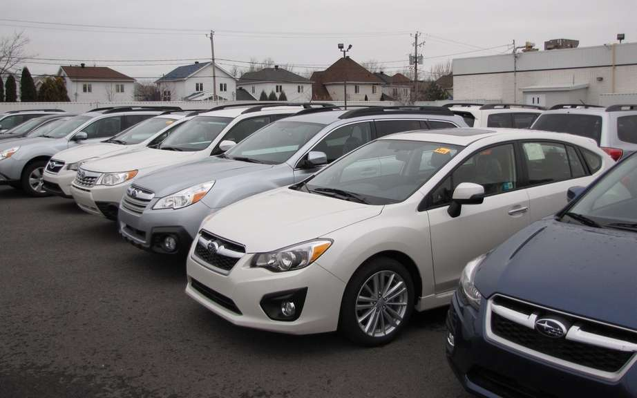 Subaru Canada celebrated a monumental sales growth picture #2