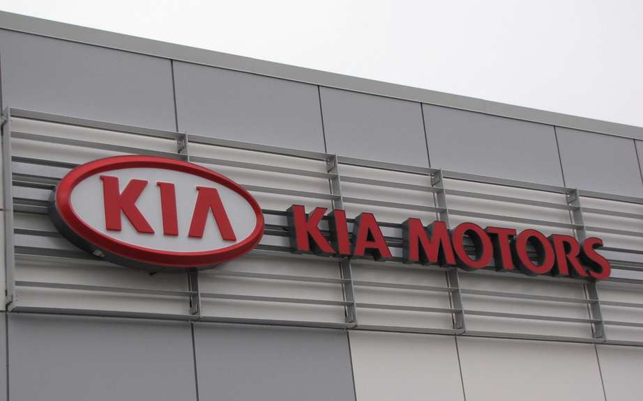 Kia Canada Inc. reported sales of 7,581 vehicles in April