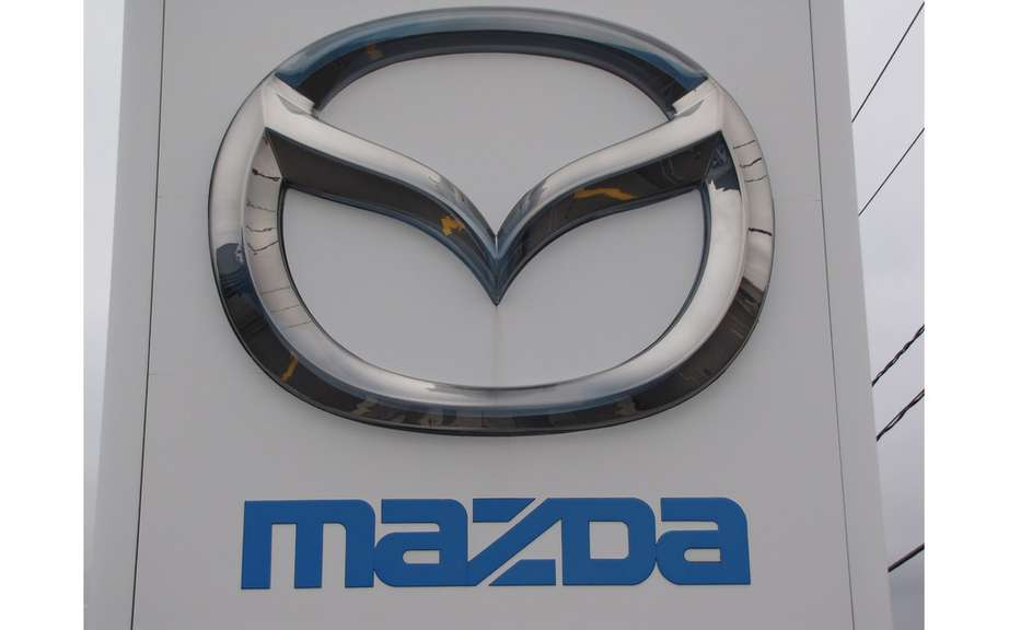 Mazda Canada reports its results of sales in April 2013