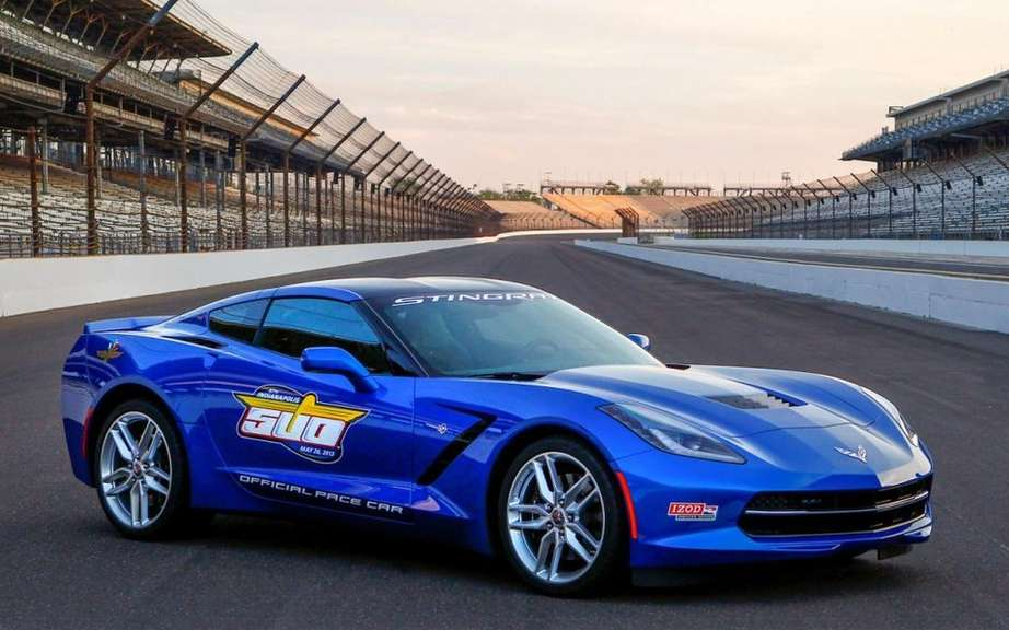 Chevrolet Corvette Stingray chosen pace car at the Indianapolis 500 picture #3