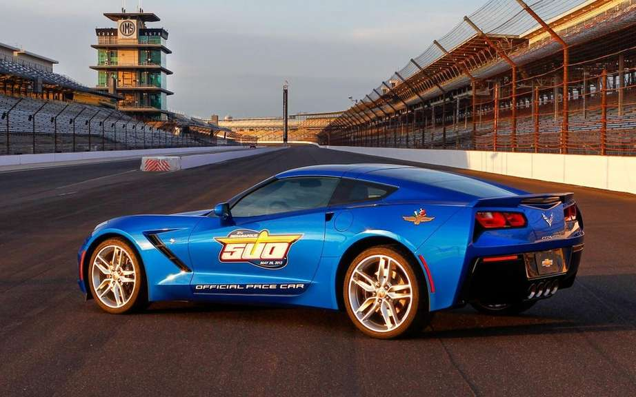 Chevrolet Corvette Stingray chosen pace car at the Indianapolis 500 picture #4