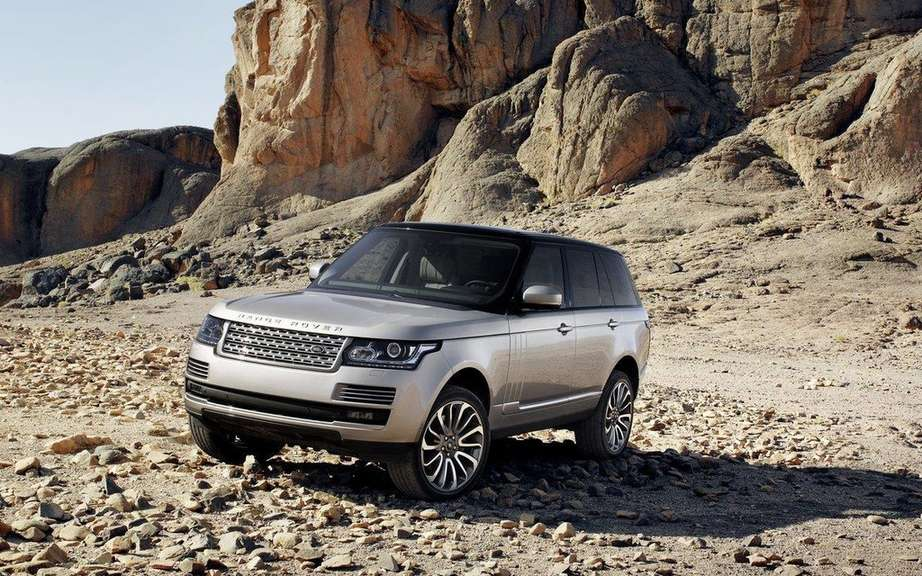 Range Rover 4X4 crown as of the year 2013