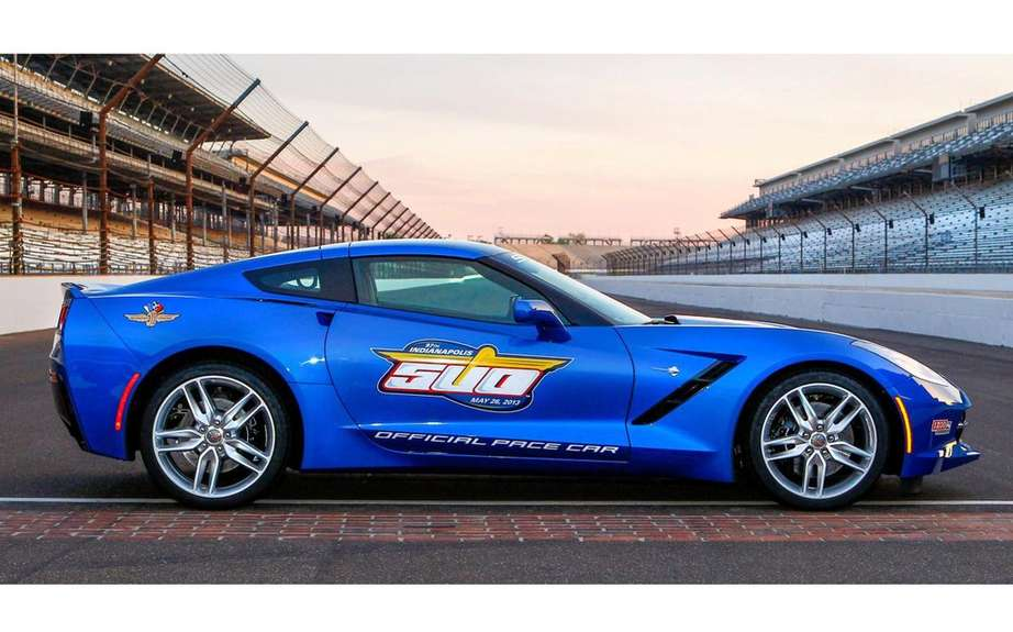 Chevrolet Corvette Stingray chosen pace car at the Indianapolis 500 picture #5