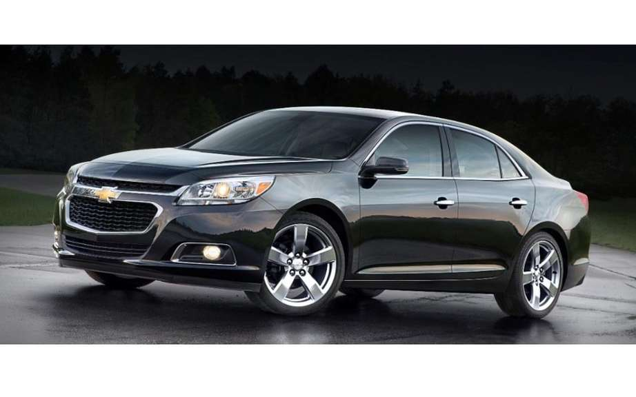 Chevrolet Malibu 2014 more generous and less energy