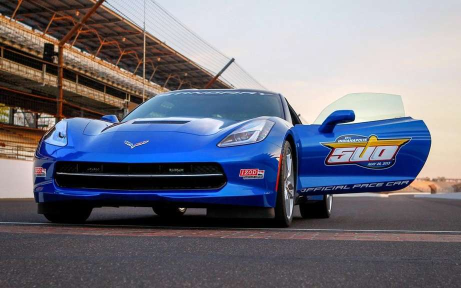 Chevrolet Corvette Stingray chosen pace car at the Indianapolis 500 picture #6