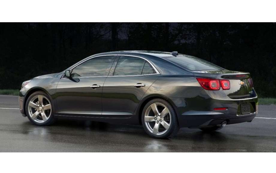 Chevrolet Malibu 2014 more generous and less energy picture #2
