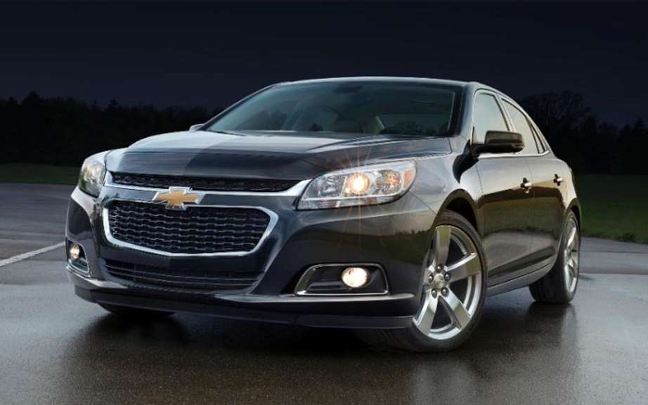 Chevrolet Malibu 2014 more generous and less energy picture #3