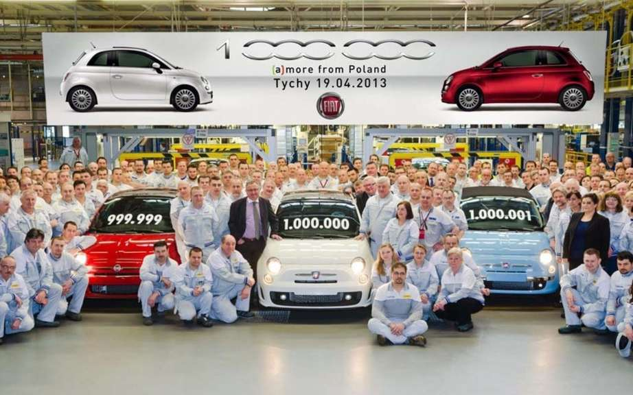 Fiat 500: more than a million units produced