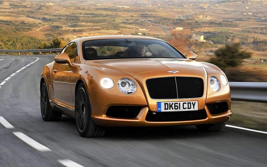 Bentley considering a market a four-door cut