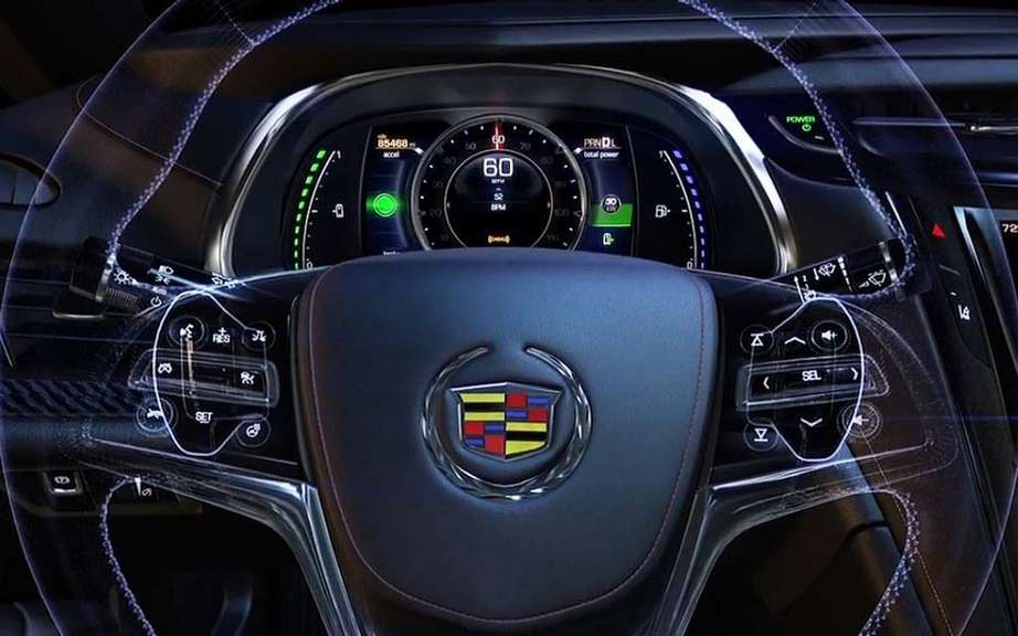 Cadillac ELR: the energy control is in the hands of the driver picture #6