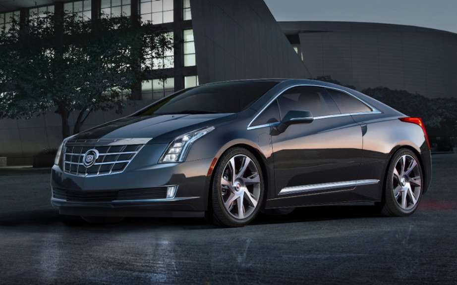 Cadillac ELR: the energy control is in the hands of the driver picture #7