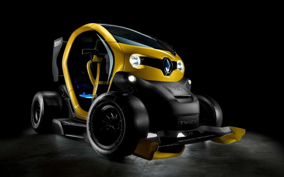 Renault Twizy Concept Car Sport F1: F1 technology has