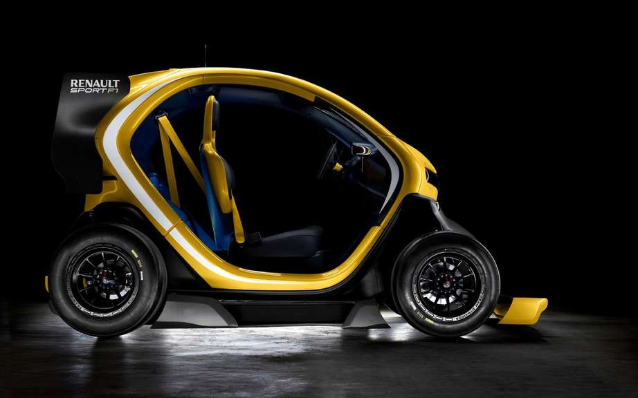 Renault Twizy Concept Car Sport F1: F1 technology has picture #3