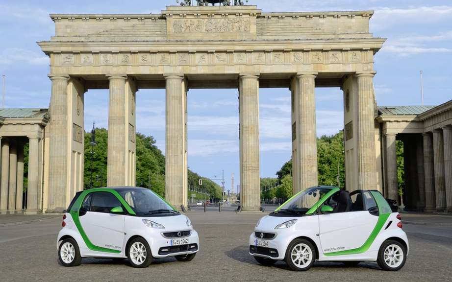 smart fortwo electric drive: the possibility to rent a battery picture #2