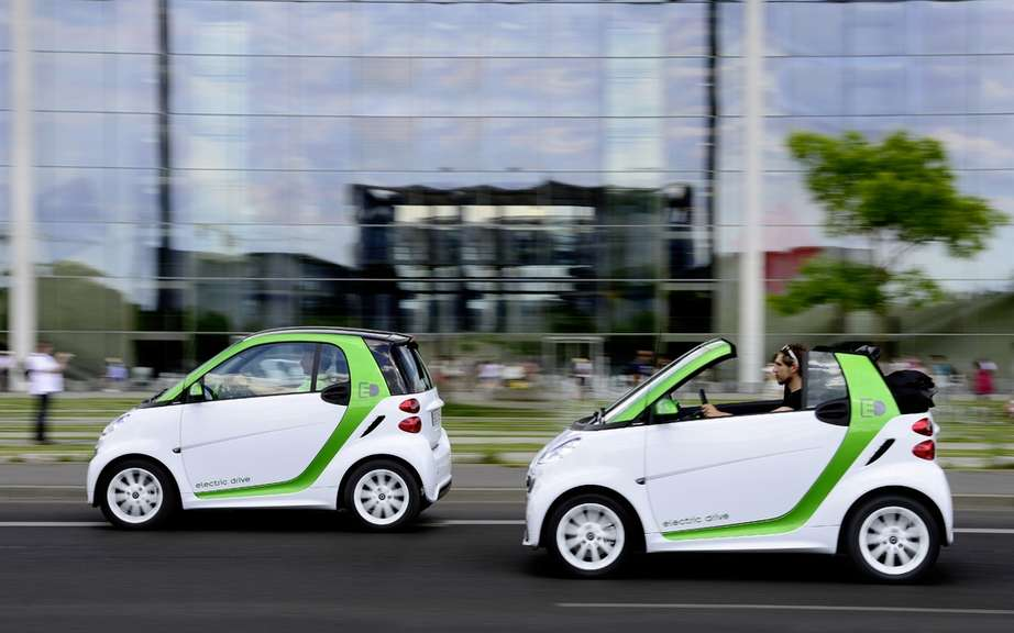 smart fortwo electric drive: the possibility to rent a battery picture #3