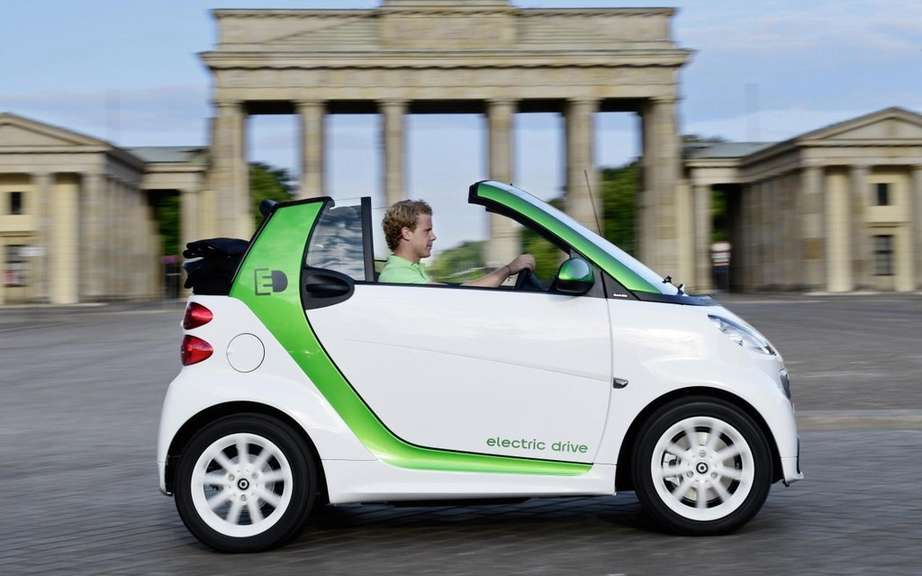 smart fortwo electric drive: the possibility to rent a battery picture #5