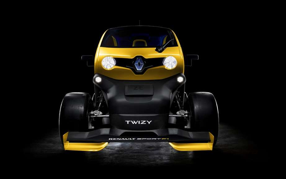 Renault Twizy Concept Car Sport F1: F1 technology has picture #5