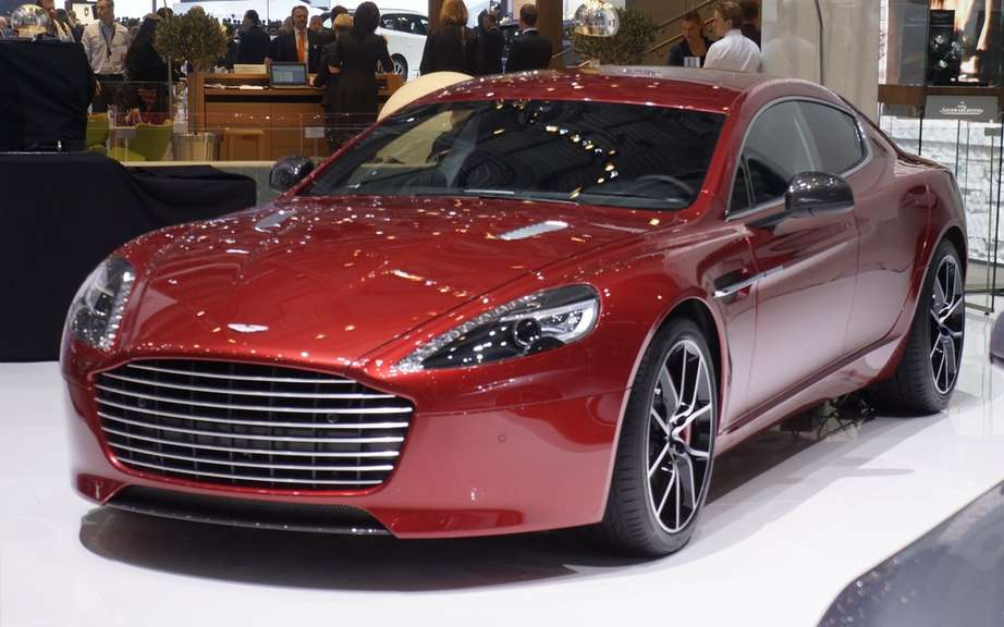 Aston Martin Rapide S Hybrid Hydrogen 24 Hours of Nurburgring