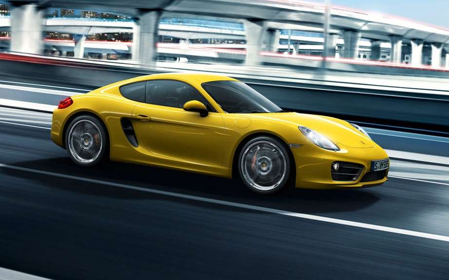 Porsche developed a new 4-cylinder engine has flat