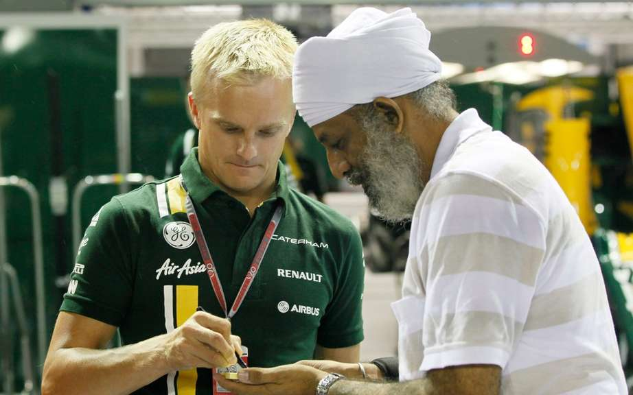 Heikki Kovalainen becomes reserve driver for the stable Caterham picture #1