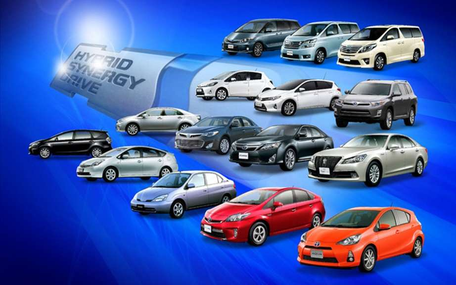 Toyota has sold more than 5 million hybrid vehicles worldwide