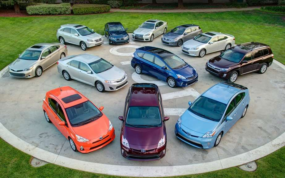 Toyota has sold more than 5 million hybrid vehicles worldwide picture #2