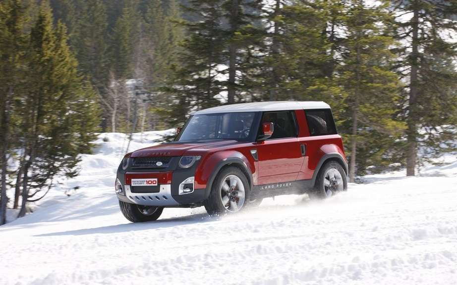 Land Rover plans to produce a small SUV