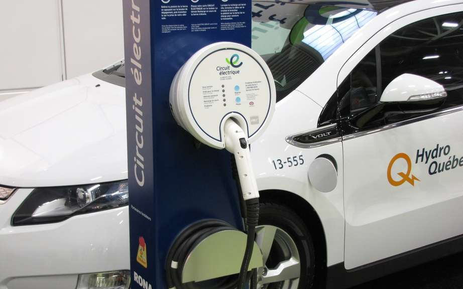Charging stations for vehicles Hydro chooses a supplier quebecois