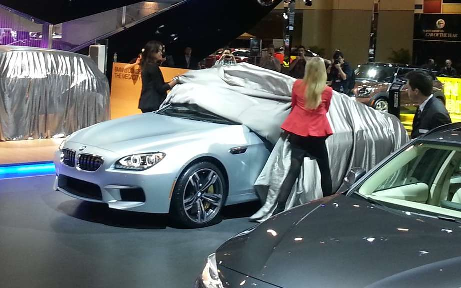 BMW M6 Gran Coupe into car safety