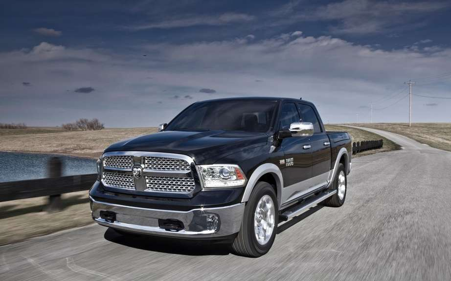 Chrysler recalls 9000 Ram 1500 trucks for brake problem