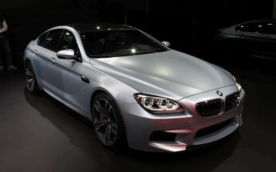 BMW M6 Gran Coupe into car safety picture #2
