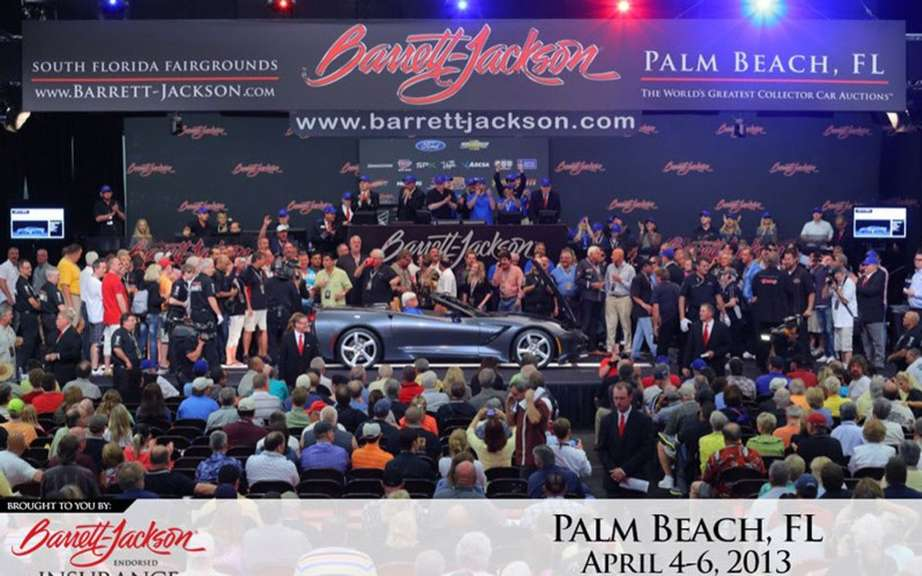 Chevrolet Corvette Stingray Convertible sold 1 million