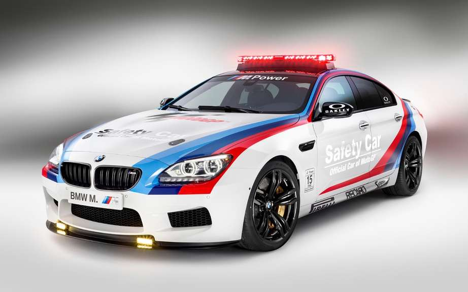 BMW M6 Gran Coupe into car safety picture #4