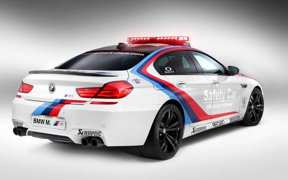 BMW M6 Gran Coupe into car safety picture #5
