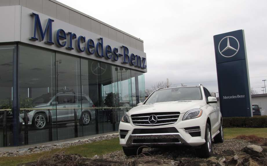 Mercedes-Benz Canada reports its sales in March picture #6