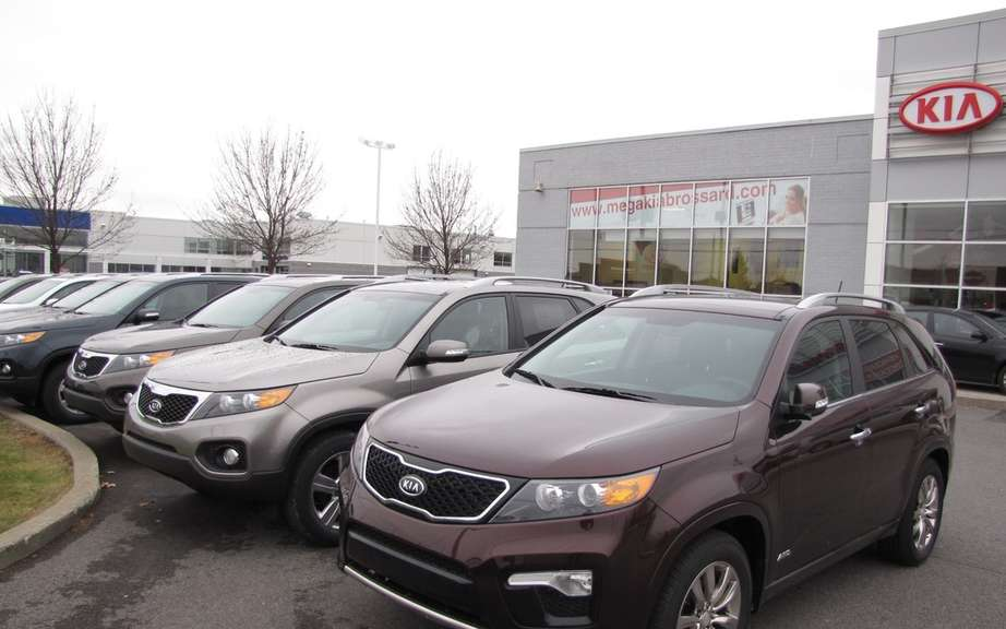 March sales of General Motors Canada picture #2