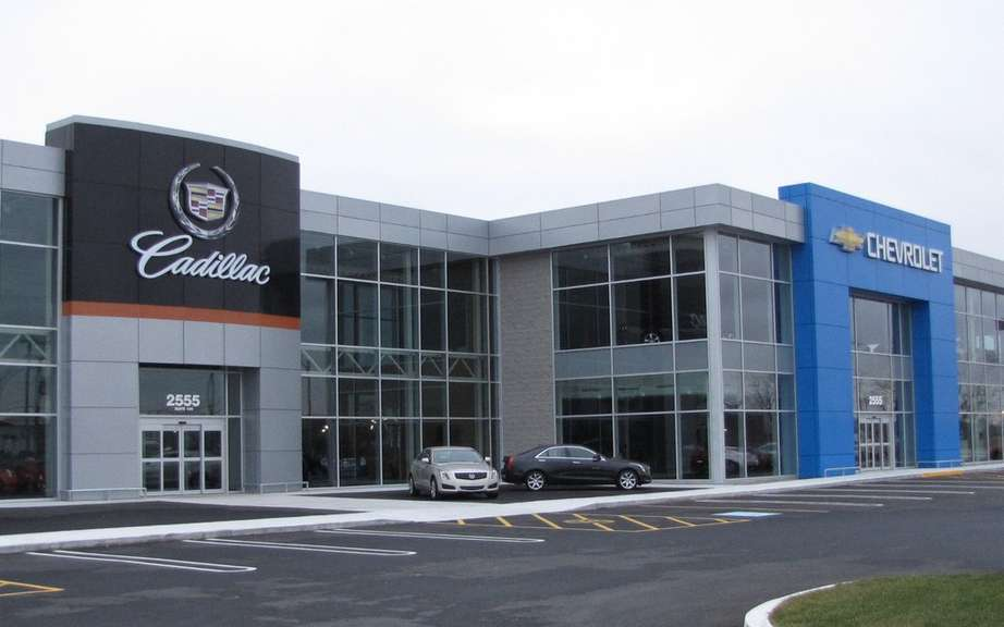 March sales of General Motors Canada picture #6