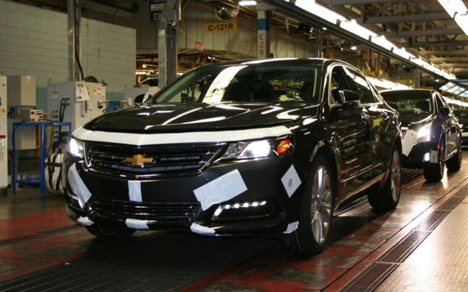 Chevrolet Impala 2014 start of production Oshawa picture #2