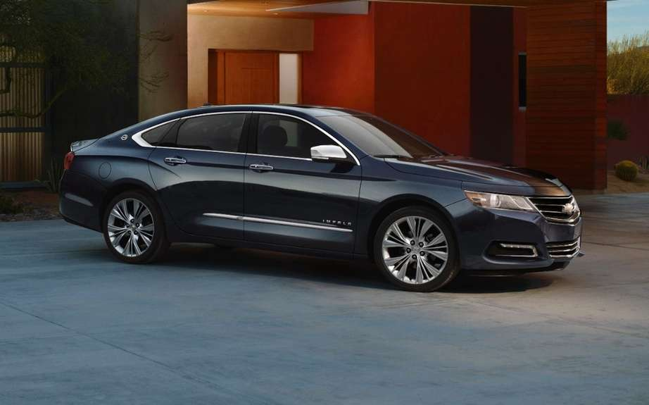 Chevrolet Impala 2014 start of production Oshawa picture #3
