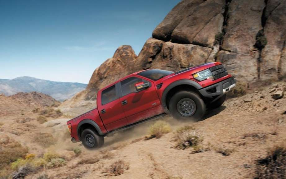 Shelby Raptor preparateur the attacks the F-150