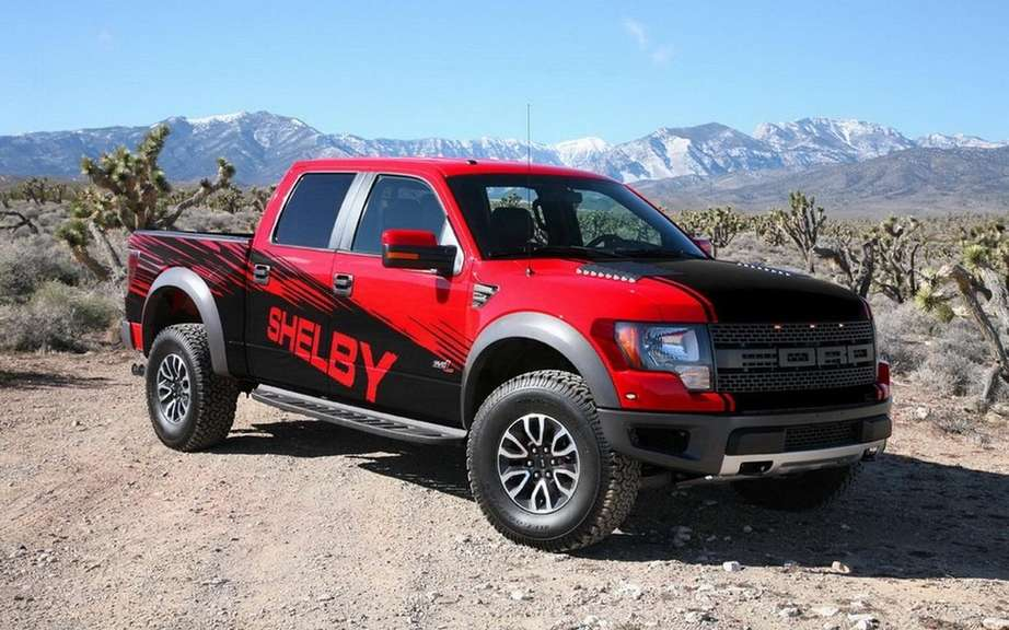 Shelby Raptor preparateur the attacks the F-150 picture #2
