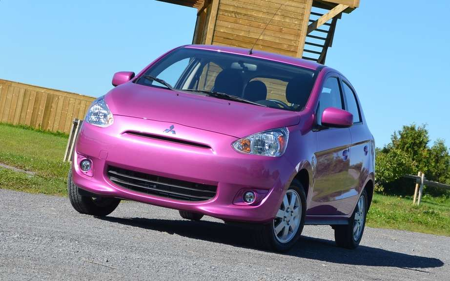 Mitsubishi Mirage 2014: the unveiling of the definitive name