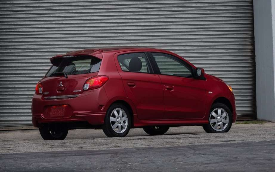 Mitsubishi Mirage 2014: the unveiling of the definitive name picture #5