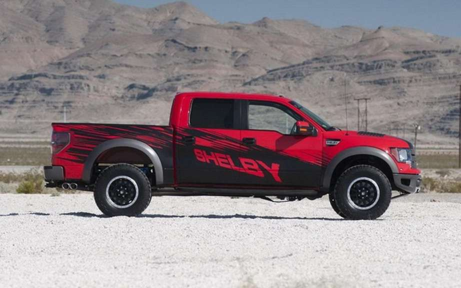 Shelby Raptor preparateur the attacks the F-150 picture #4