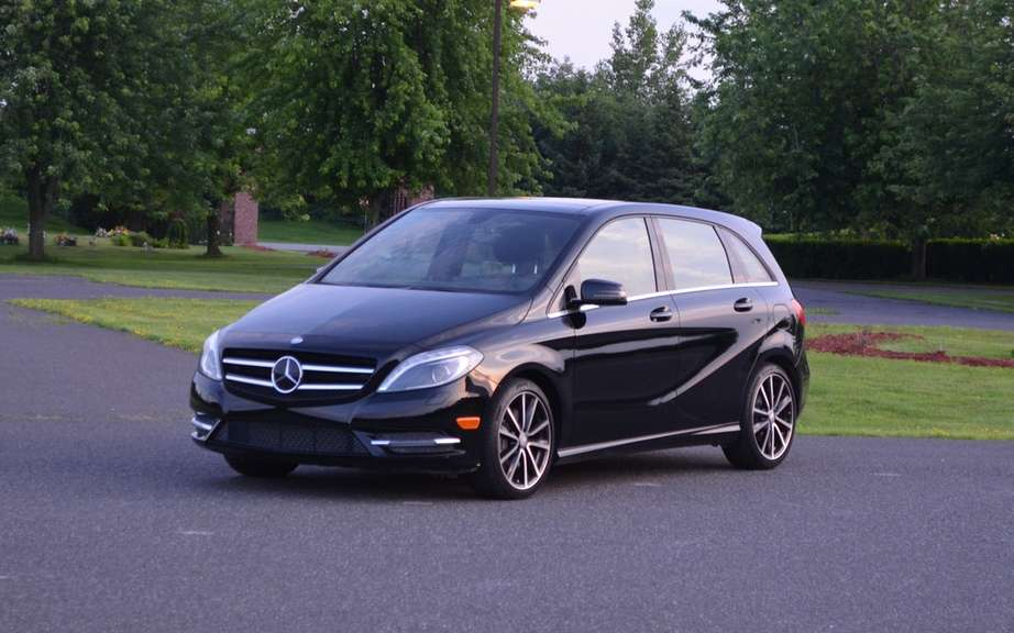 Mercedes-Benz B-Class electric: Sold in America picture #1