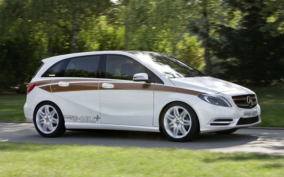 Mercedes-Benz B-Class electric: Sold in America picture #3