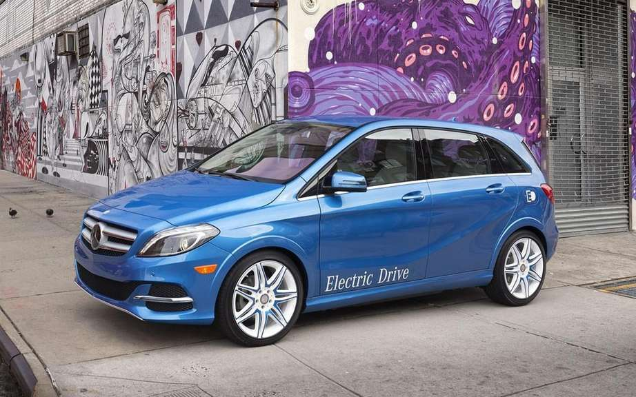 Mercedes-Benz B-Class electric: Sold in America picture #4