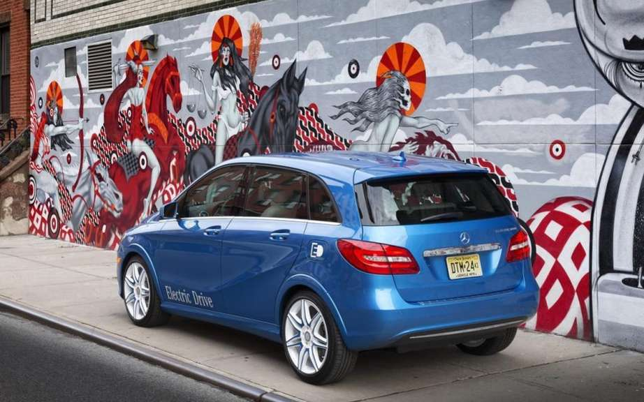 Mercedes-Benz B-Class electric: Sold in America picture #5